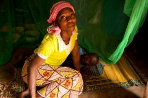Christian Aid Miriam Mahamadu Ghana Mosquito Nets programme