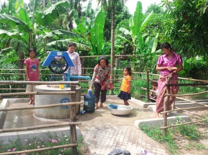 Well construction project - Cambodia