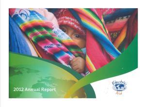ANNUAL REPORT 2012 V2