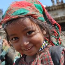 FN Chetri girl going to School Dandafaya Humla