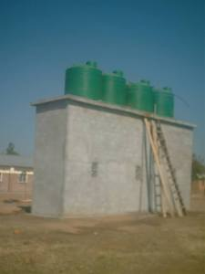 Water tower Chimteka